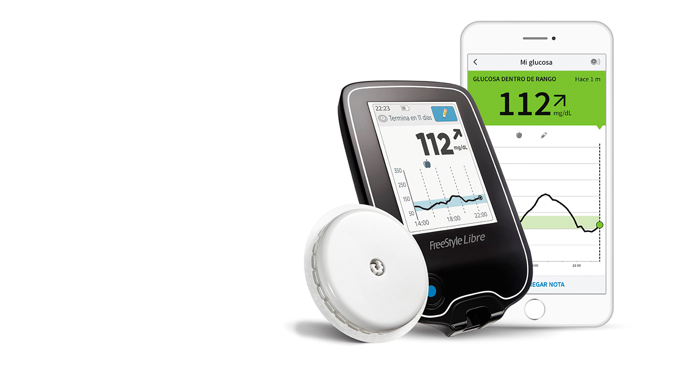 Control Diabetes con Lector FreeStyle Libre